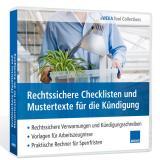 Download-Paket Rechtssichere Checklisten und Mustertexte für die Kündigung