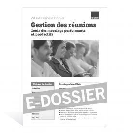 E-Dossier Gestion des réunions