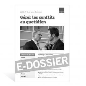 E-Dossier Gérer les conflits au quotidien