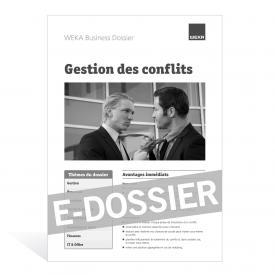 E-Dossier Gestion des conflits