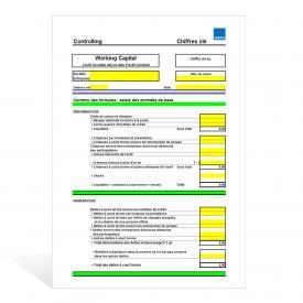 Aide de calcul Actif circulant et ratio d'actif circulant