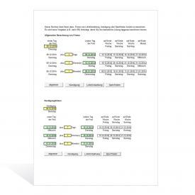 Berechnung der Fristen wie Lohnfortzahlung, Kündigung oder Sperrfristen
