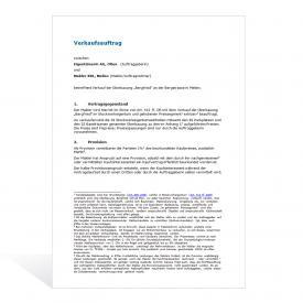 Grundstückmaklervertrag