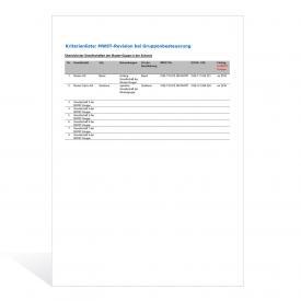 Vorlage für die MWST-Revision bei Gruppenbesteuerung