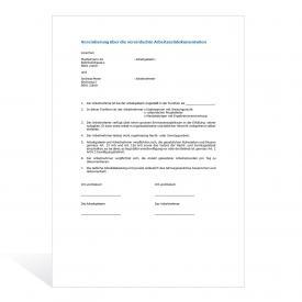 Muster Vereinbarung Arbeitszeitdokumentation
