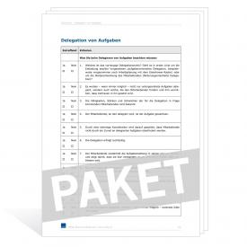 Download-Paket Verwarnung