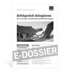 E-Dossier Erfolgreich delegieren