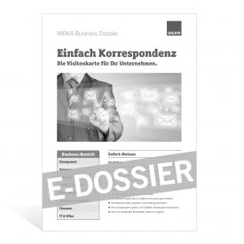 E-Dossier Einfach Korrespondenz
