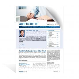 Newsletter Arbeitsrecht