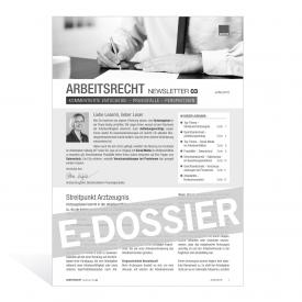 E-Dossier Arbeitsrecht: Streitpunkt Arztzeugnis