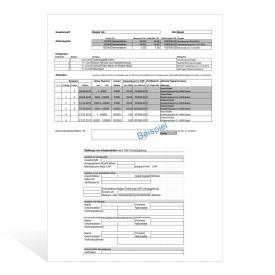 Vorlagen Aktienbuch und GAFI-Meldungen