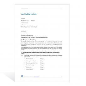 Architekturvertrag - Basismuster