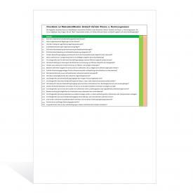 Checkliste Risikoidentifikation