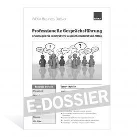 E-Dossier Professionelle Gesprächsführung
