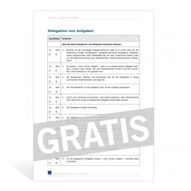 Checkliste Aktionärbindungsvertrag