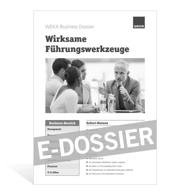 E-Dossier Wirksame Führungswerkzeuge