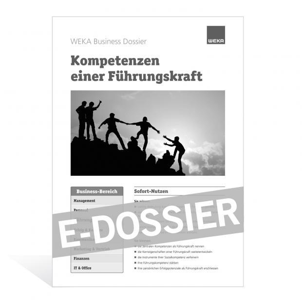 E-Dossier Kompetenzen einer Führungskraft