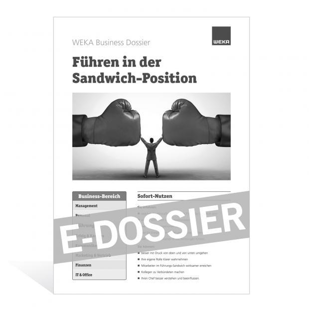 E-Dossier Führen in der Sandwich-Position