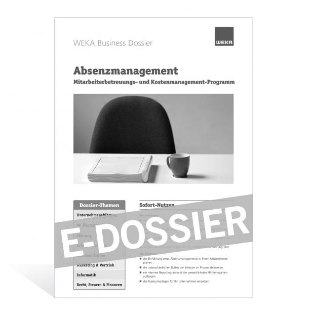 E-Dossier Absenzmanagement