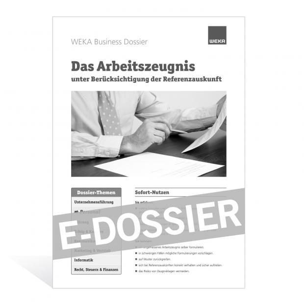 E-Dossier Arbeitszeugnis