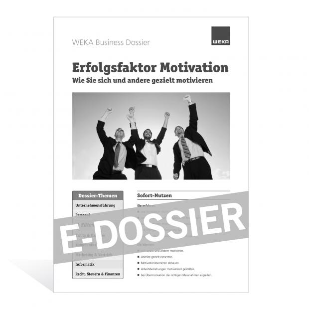 E-Dossier Erfolgsfaktor Motivation