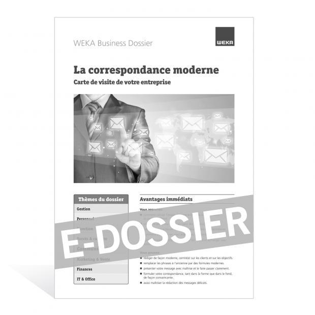 E-Dossier La correspondance moderne