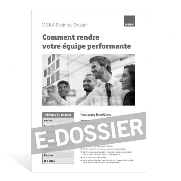 E-Dossier Equipe performante