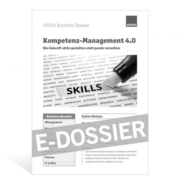 E-Dossier Kompetenz-Management 4.0