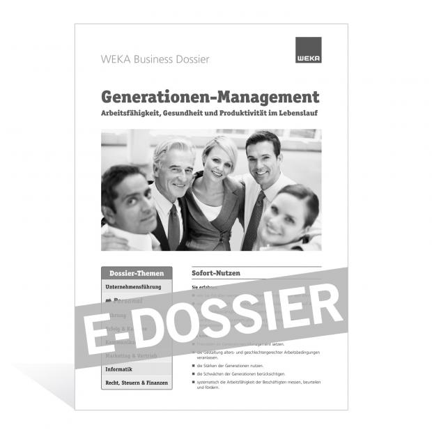 E-Dossier Generationen-Management