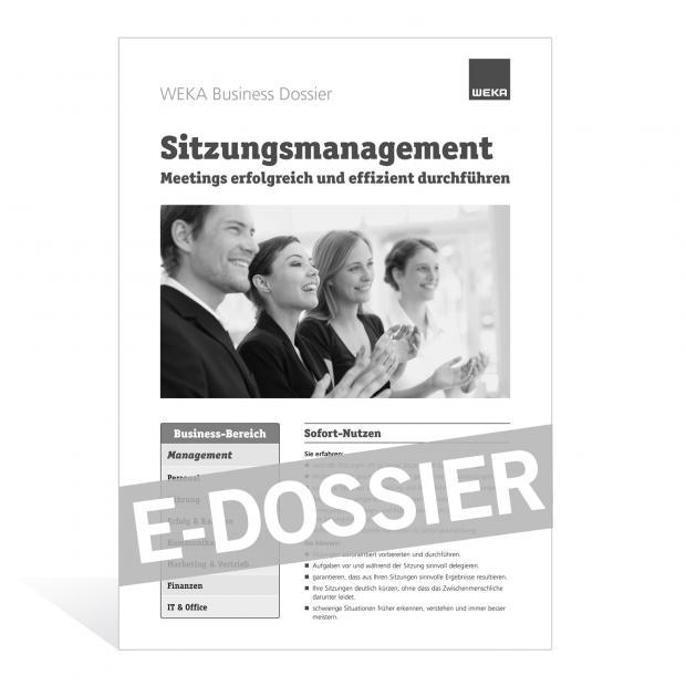 E-Dossier Sitzungsmanagement