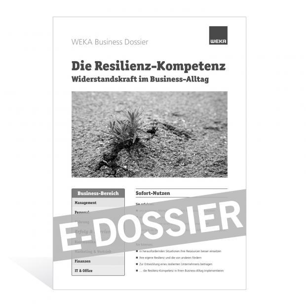 E-Dossier Resilienz-Kompetenz