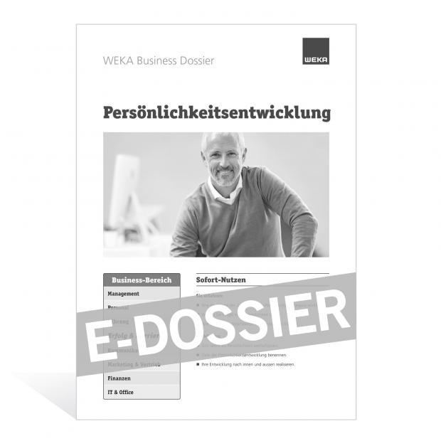 E-Dossier Persönlichkeitsentwicklung