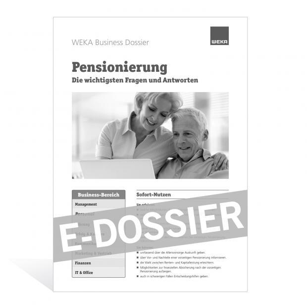 E-Dossier Pensionierung