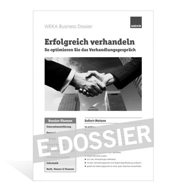 E-Dossier Erfolgreich verhandeln