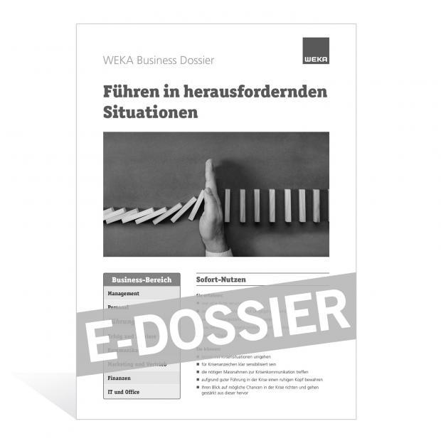 E-Dossier Führen in herausfordernden Situationen