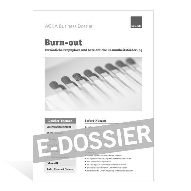 E-Dossier Burn-out
