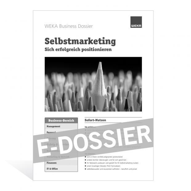 E-Dossier Selbstmarketing