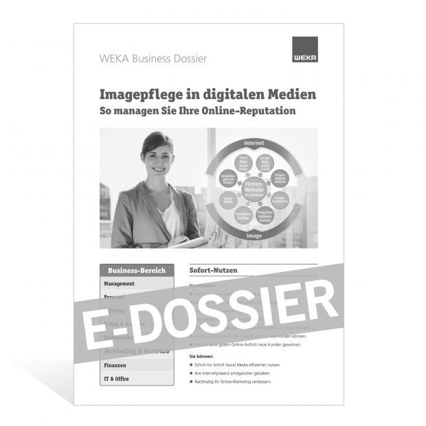 E-Dossier Imagepflege in digitalen Medien