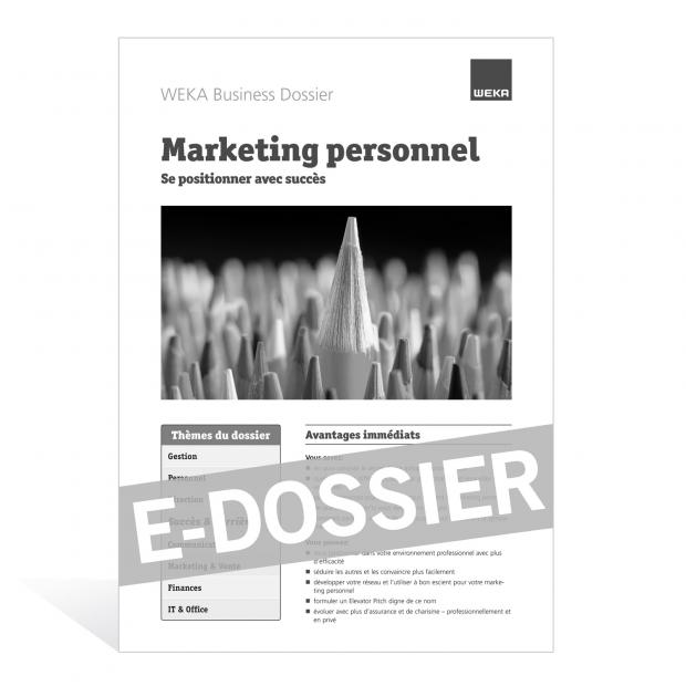 E-Dossier Marketing personnel