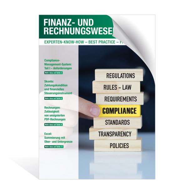 Newsletter Finanz- und Rechnungswesen