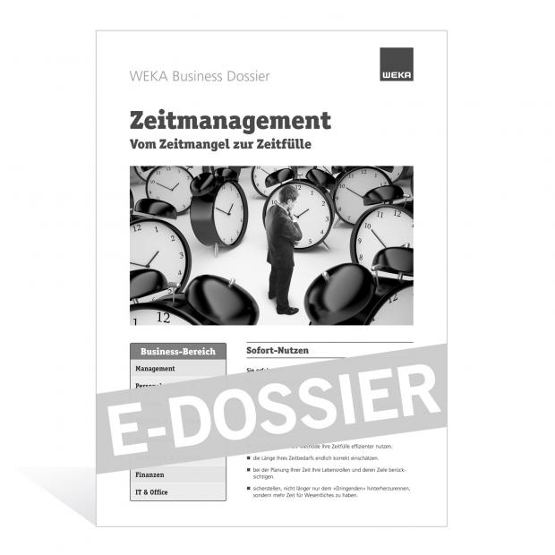 E-Dossier Zeitmanagement