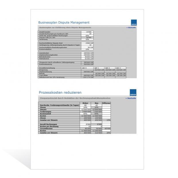 Rechner Working Capital Management