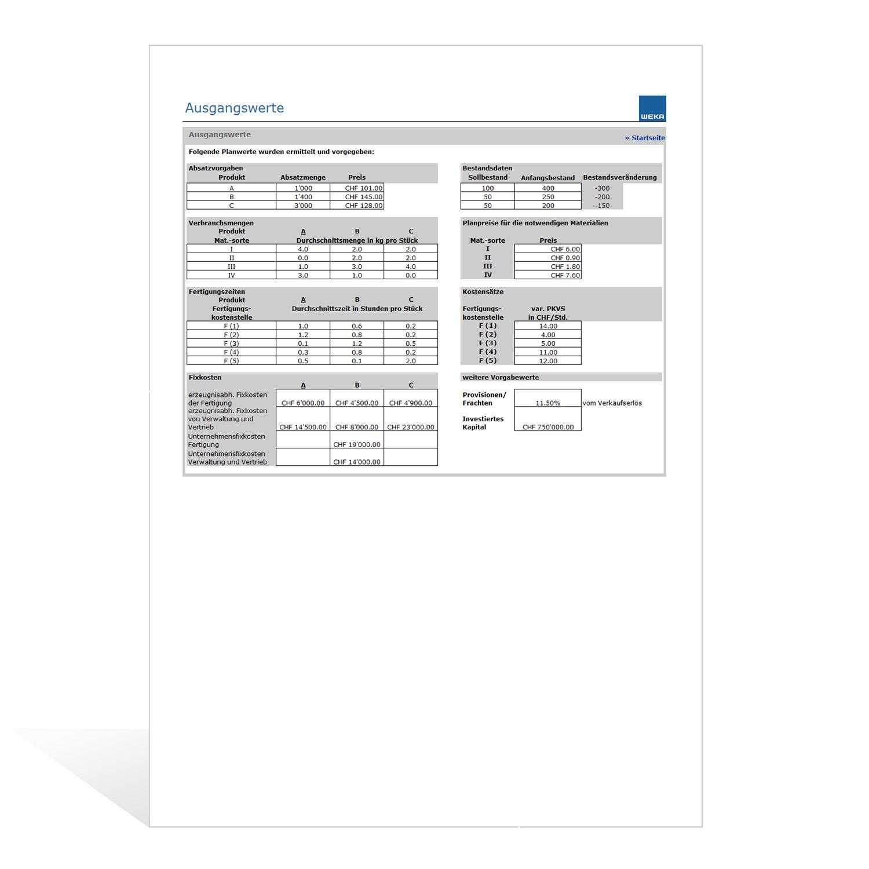 Budgetrechner mit Planungssimulation